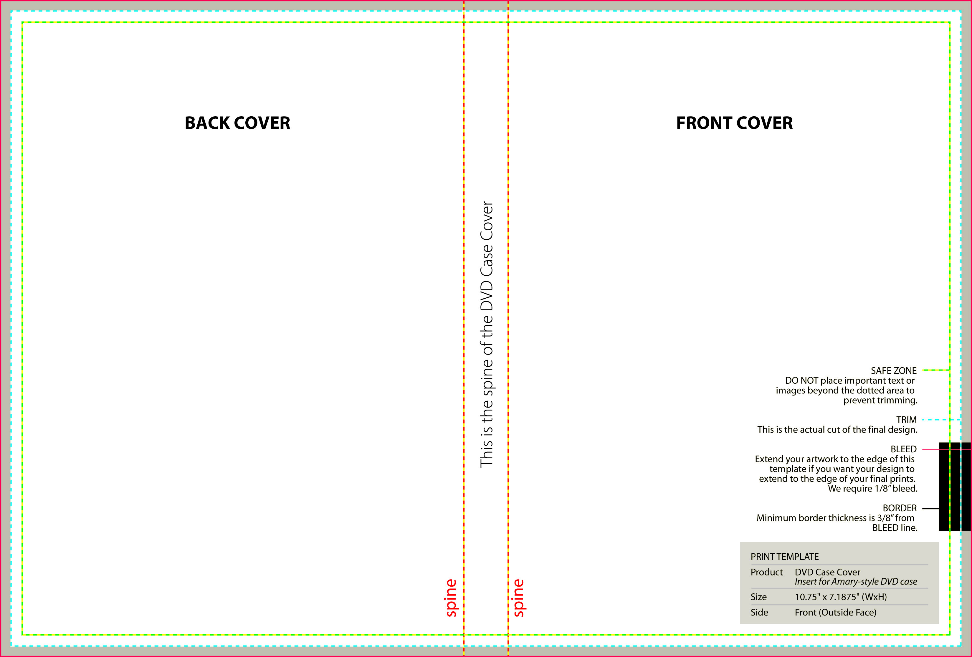dvd case cover print with your custom designs nextdayflyers